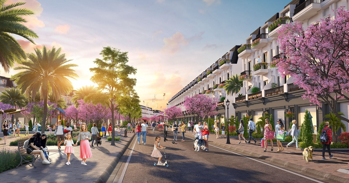 Nha Pho Vuon Du An Eco City Premia